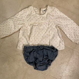 Old Navy Shirt and Bloomer